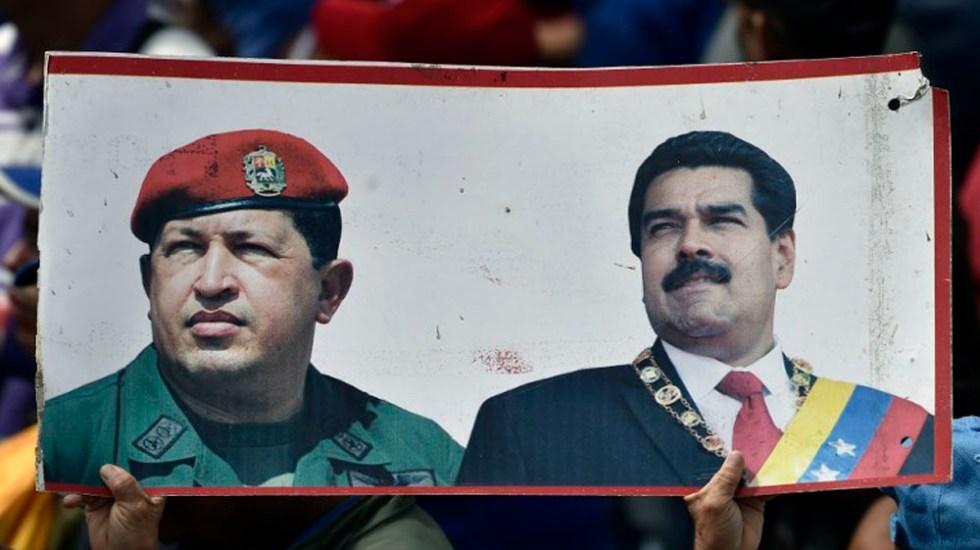 Las turbulentas relaciones entre EE.UU. y Venezuela - Chávez y Maduro. Foto de AFP
