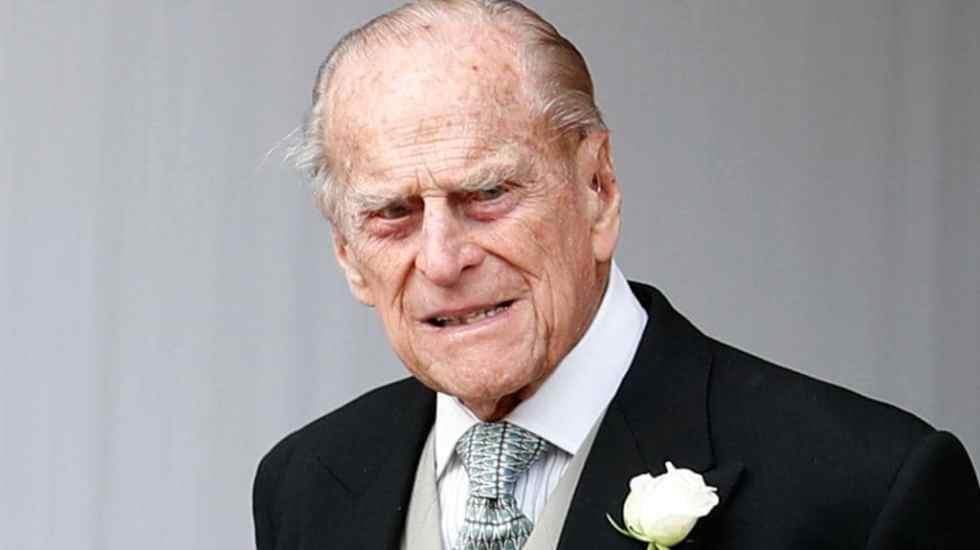 El duque de Edimburgo sufre accidente automovilístico - accidente duque de edimburgo