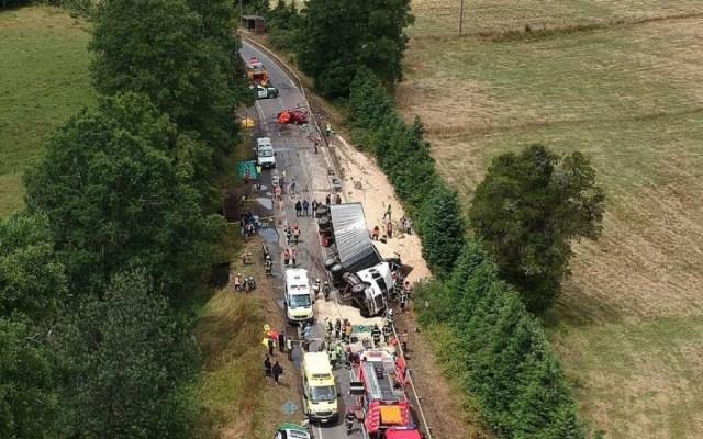 Choque múltiple en Chile deja nueve muertos - choque multiple chile