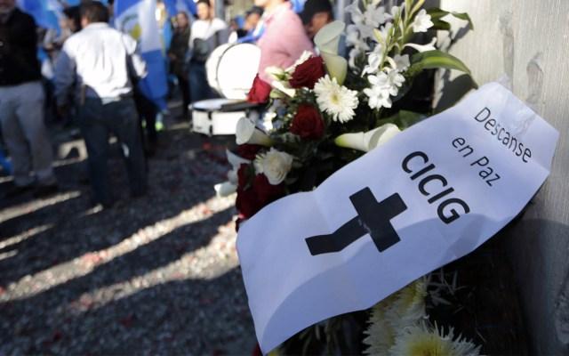 Cierre de misión anticorrupción en Guatemala desata guerra judicial - Foto de Noé Pérez/AFP