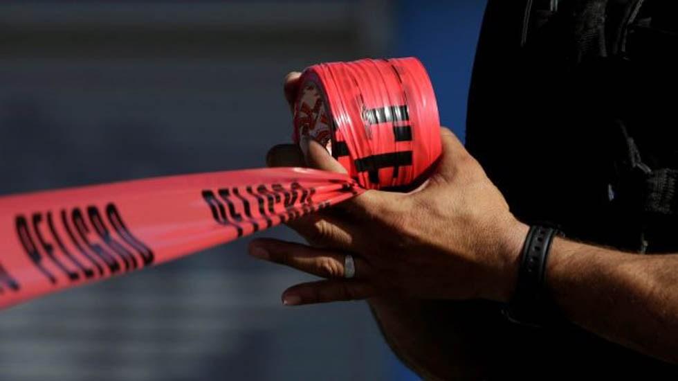 Ecatepec deja de ser la ciudad más insegura del país - Cinta de peligro. Foto de Internet