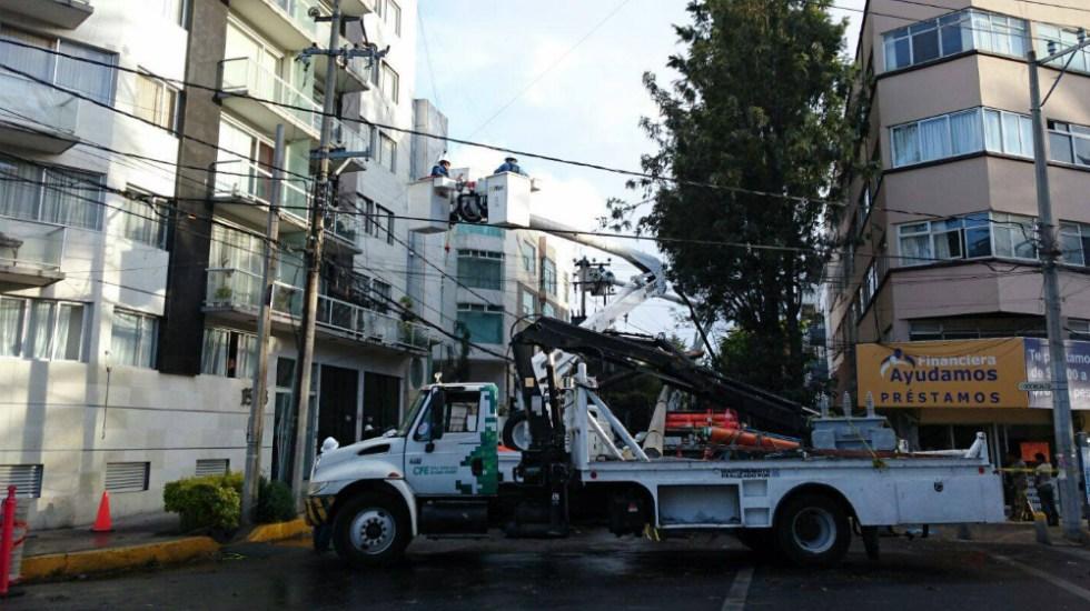 Comisión Federal de Electricidad va contra ladrones de luz - Foto de CFE