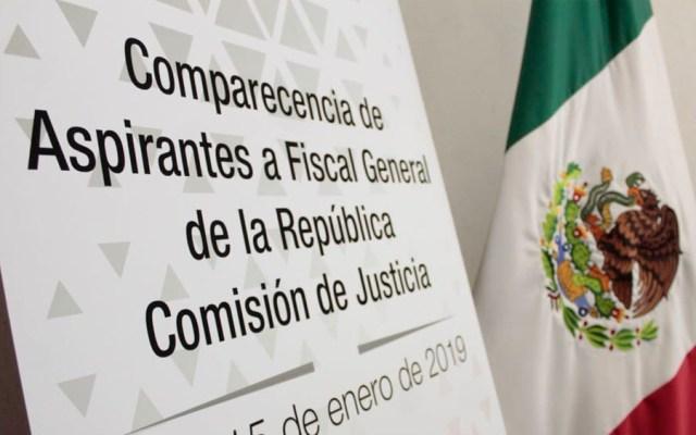 Comparecen aspirantes a Fiscal General - Foto de @CanalCongreso