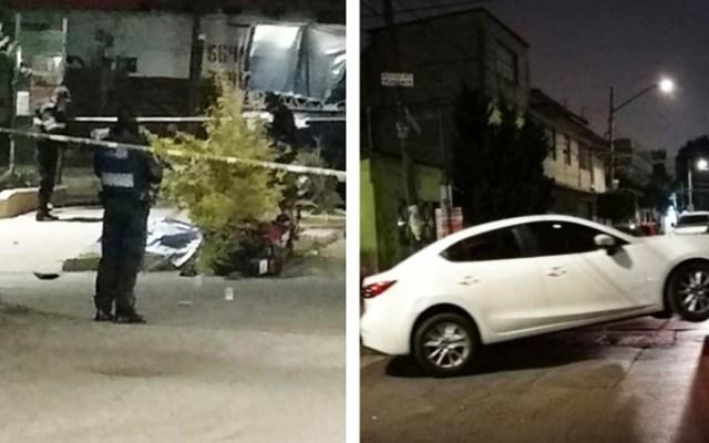Asesinan a dos conductores en la Ciudad de México - Conductores asesinados. Foto de Excélsior