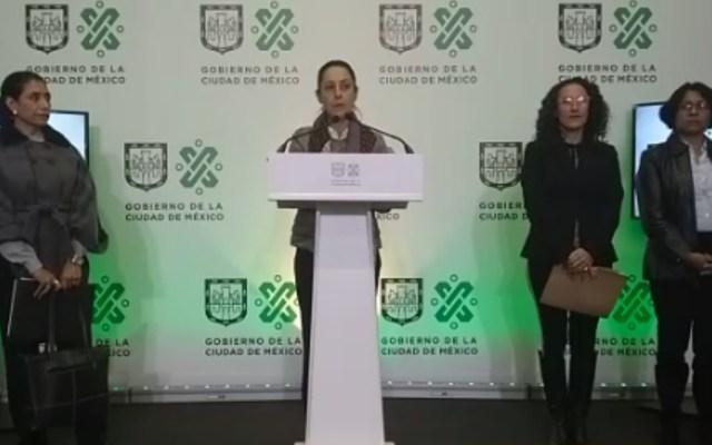 Trabajo comunitario por multas en la CDMX iniciará en marzo - Conferencia de Claudia Sheinbaum. Captura de pantalla