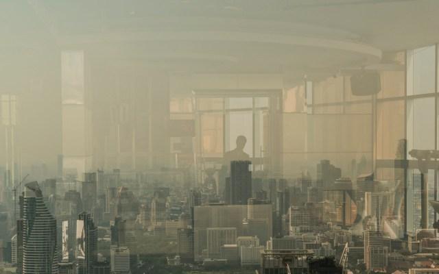 Contaminación obliga cierre de 437 escuelas en Bangkok - Contaminación en Bangkok. Foto de New York Times