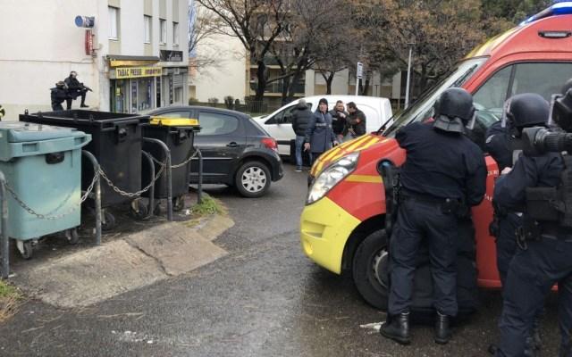 Hombre asesina a una persona y deja seis heridos para después suicidarse en Francia - Foto de France 3 TV