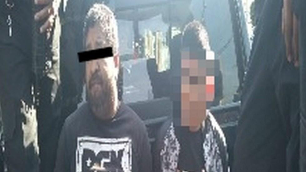 Detienen a dos por vender gasolina ilegal en la GAM - Foto de SSC