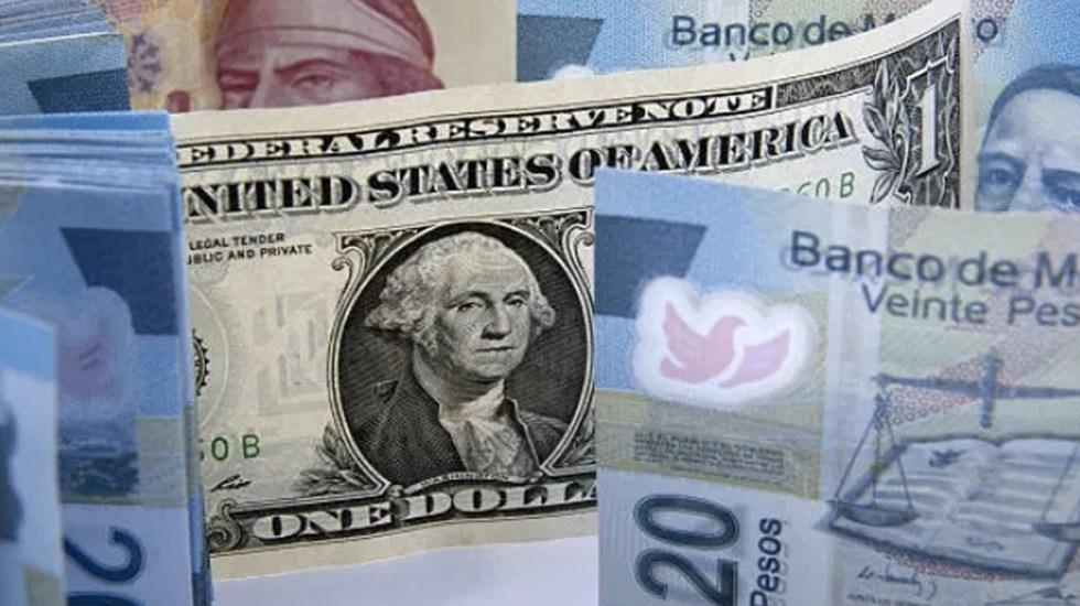 El peso mejora frente al dólar previo a mensaje de Trump - dólar peso