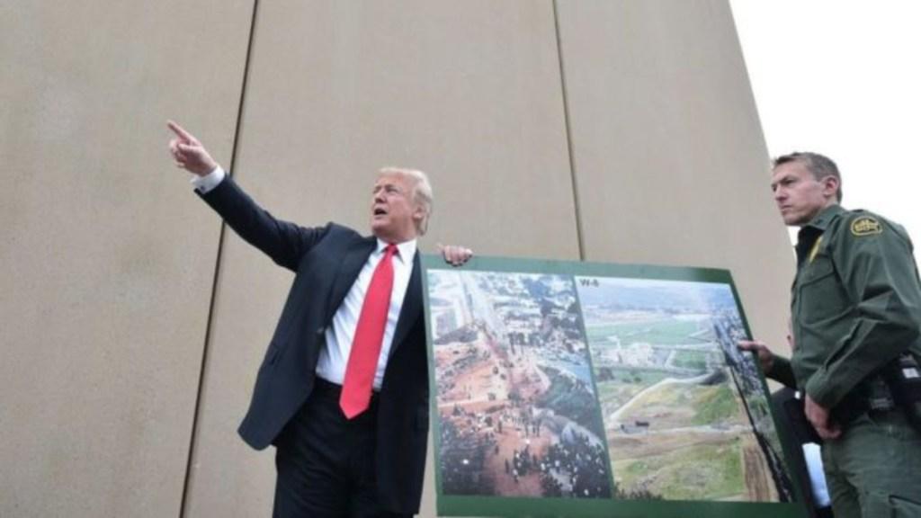 Tropas a la frontera, para frenar invasión de indocumentados: Trump - donald trump volvió a pedir la construcción del muro