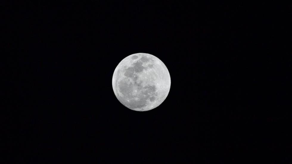 #EnVivo Eclipse total de Luna - Foto de AFP