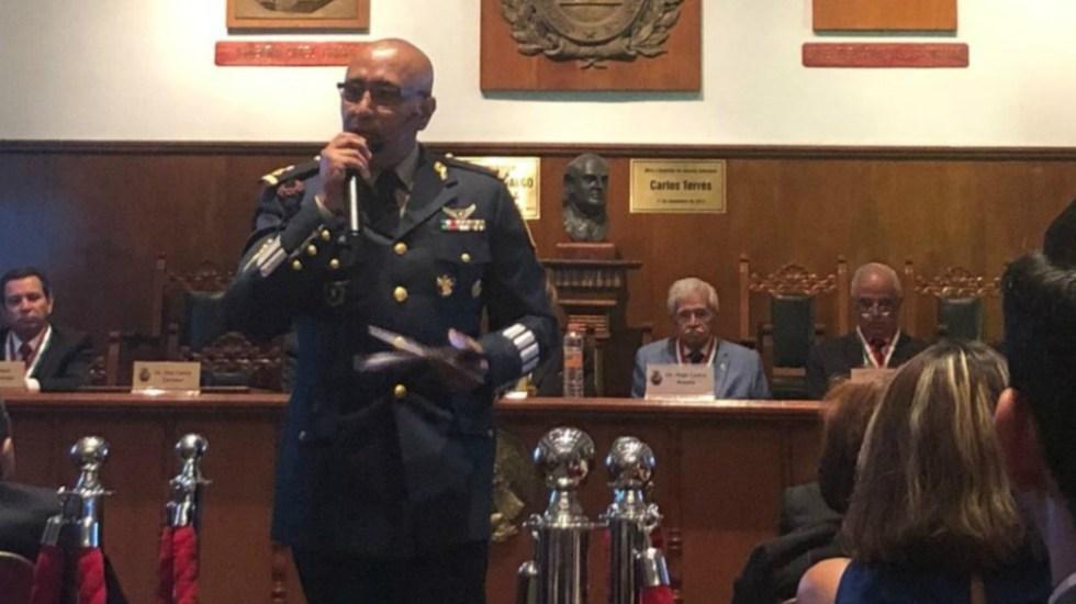 Retiran suspensión definitiva al general Trauwitz - Foto de Reporte Índigo