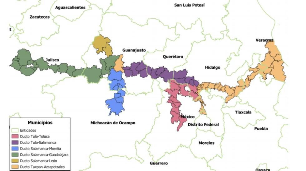 Estos son los 91 municipios que recibirán apoyos contra robo de combustible - Foto de Gobierno de México