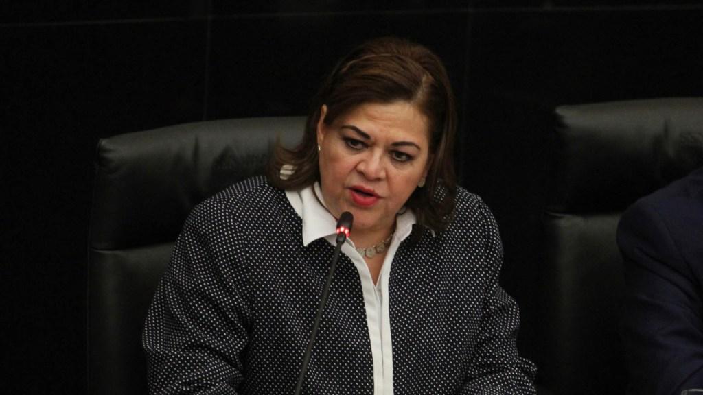 Gyves Zárate promete erradicar la tortura si la eligen como fiscal general - Foto de Notimex