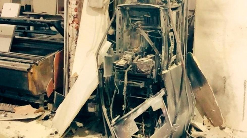 Muere delincuente tras explotar cajero automático en Uruguay - Foto de internet