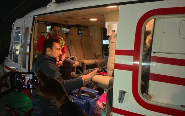 Trasladarán a Texas a herido por explosión en Tlahuelilpan: Omar Fayad - Foto de Twitter