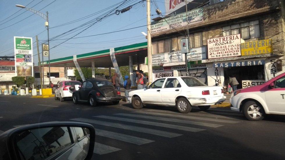 Llega el cuarto día con desabasto de combustible en el Valle de México - desabsato de combustible gasolineras