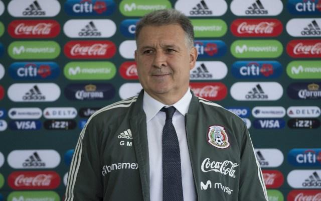 """Confirman juego del Tricolor en """"casa"""" de Gerardo Martino - Foto de Mexsport"""