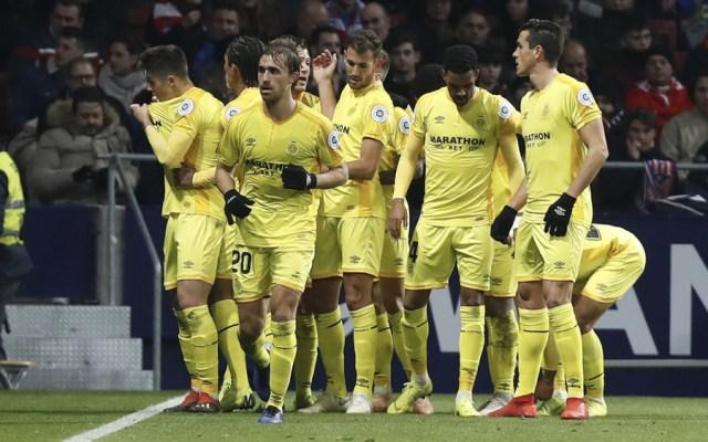 Girona da la gran sorpresa y elimina al Atlético de la Copa del Rey - Foto de @GironaFC