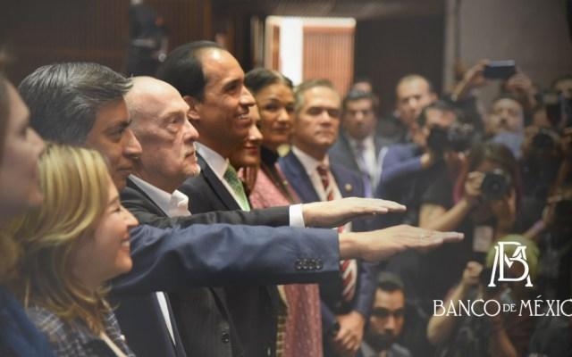 Rinden protesta los dos nuevos integrantes de la Junta de Gobierno de Banxico - Foto de Banxico