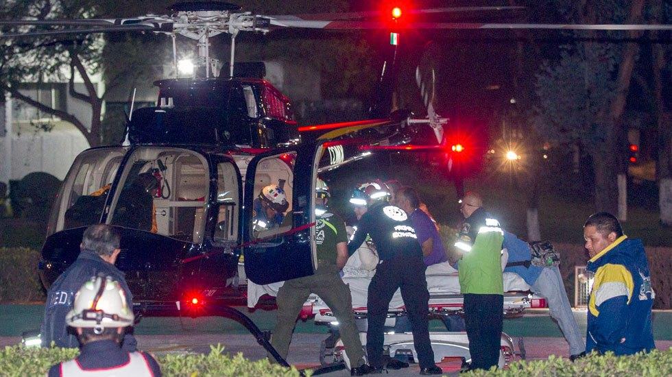 Atienden en Hospital Militar de la capital a heridos por explosión - Foto de Notimex