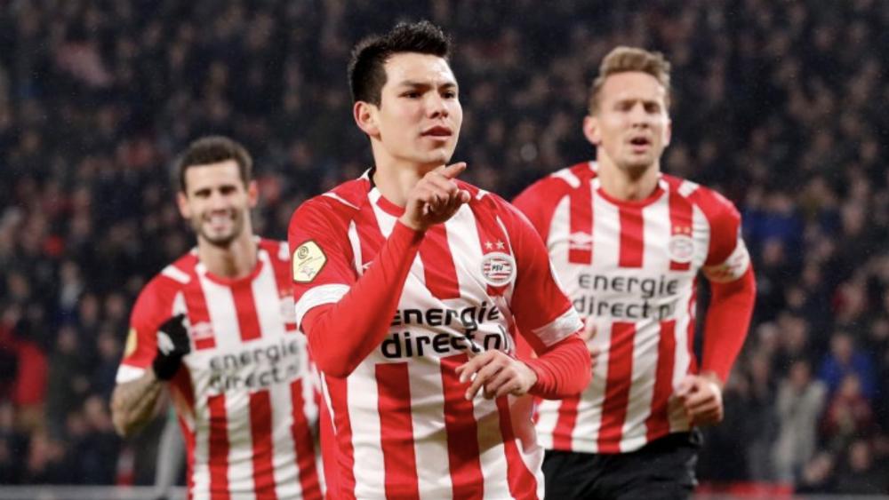 Gana el PSV con doblete del 'Chucky' Lozano, quien salió lesionado - #Video Doblete del Chucky Lozano, pero sale por lesión