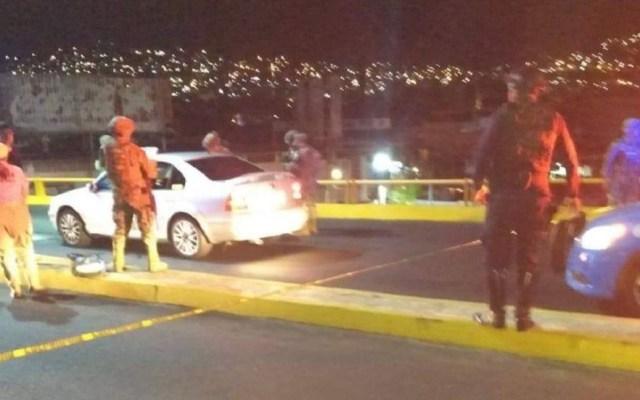 Ejecutan a joven automovilista en Acapulco - Homicidio en Acapulco. Foto de Twitter