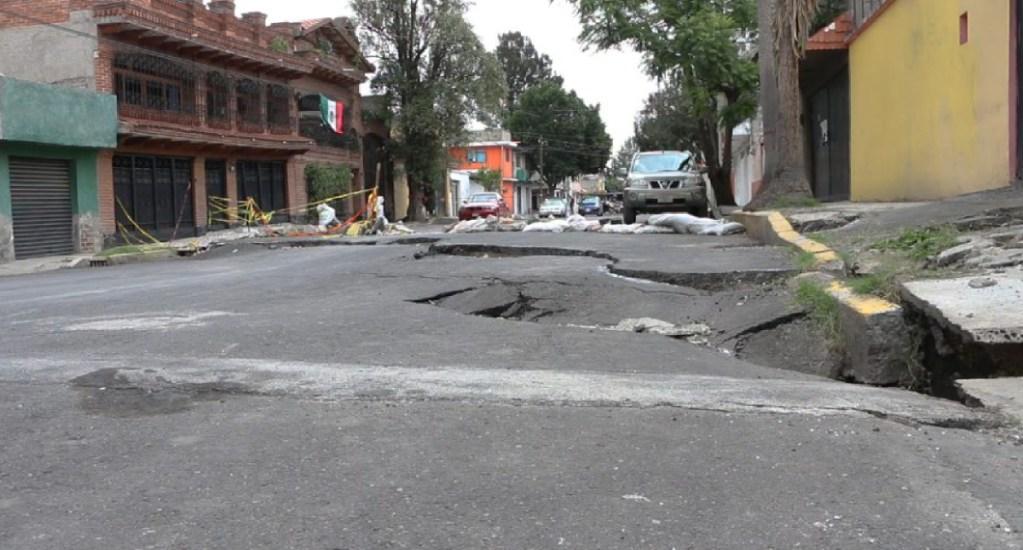Investigan hundimientos de suelo tras sismos en Ciudad de México - investigan hundimientos tras sismos ciudad de méxico