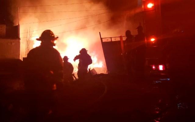 Incendio en Iztapalapa fue un accidente: PGJ - Foto de @JAVIERR_RUIZ