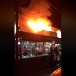 Incendio consume restaurante en Veracruz