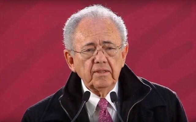 Construcción del NAIM está oficialmente suspendida: Jiménez Espriú - Javier Jiménez Espriú. Captura de pantalla