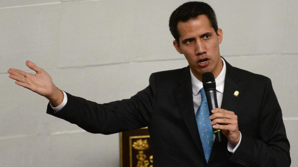 Guaidó asume control de activos de Venezuela en el exterior - Juan Guaidó. Foto de AFP