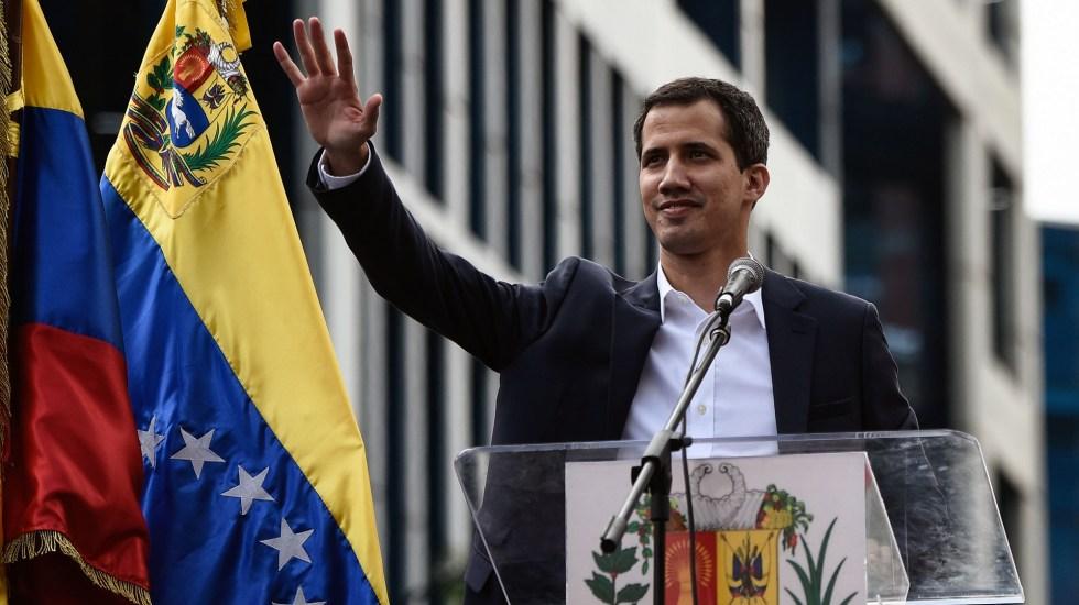 Las naciones que reconocen a Juan Guaidó como presidente de Venezuela - Juan Guaidó. Foto de AFP / Federico Parra