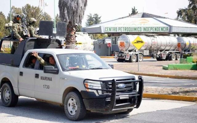 Marina llega al complejo Petroquímico en Texmelucan - Foto de Milenio