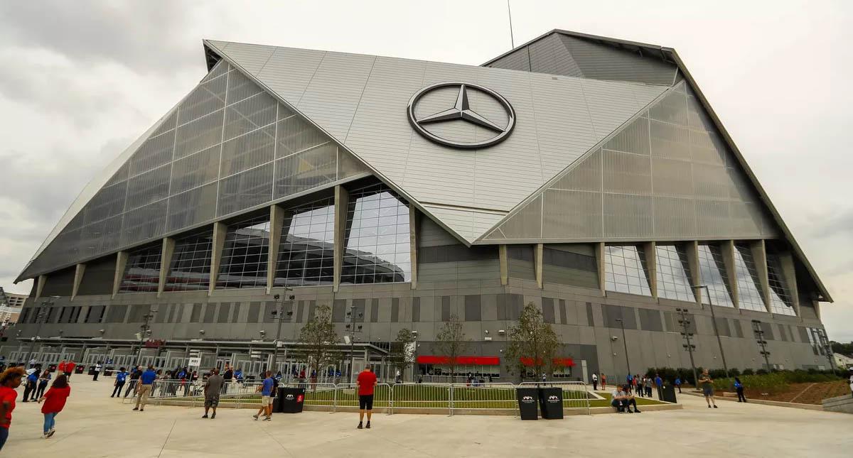 Tormenta de nieve amenaza a Atlanta, sede del Super Bowl