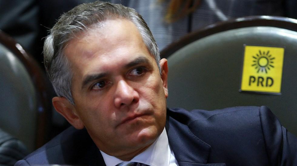 Monreal busca acuerdos para que no se pida desafuero de Mancera - Miguel Angel Mancera