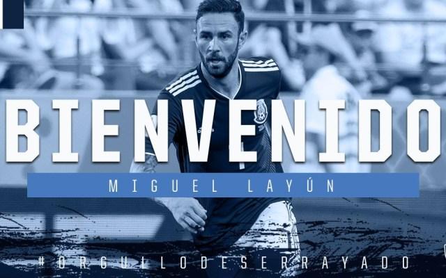 Miguel Layún nuevo jugador de Monterrey