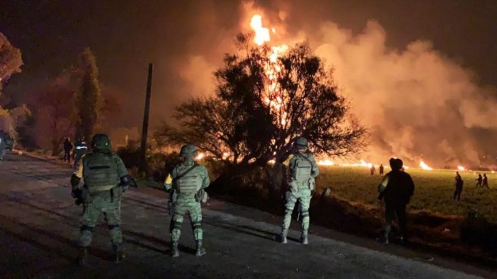 Es difícil que 25 militares pudieran detener a 800 personas: Sandoval - Foto de AFP