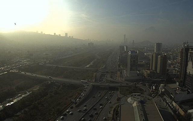 Alertan por mala calidad del aire en Monterrey - Foto de @webcamsdemexico