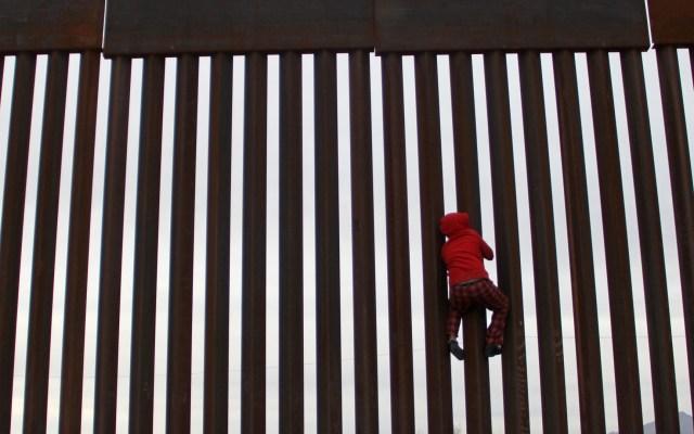 No vamos a involucrarnos en asuntos internos de EE.UU.: AMLO - Frontera entre México y Estados Unidos. Foto de AFP / Herika Martinez