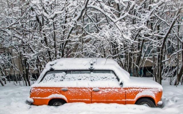 Nevadas y mal tiempo azotan al este de Estados Unidos - Nevada en Chicago. Foto de Twitter