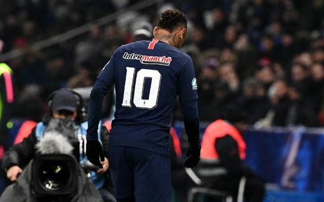 """Neymar sufre una """"reactivación dolorosa"""" de su lesión en el pie: PSG - Foto de AFP"""