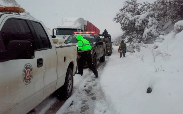 Pronostican caída de nieve en el norte y noroeste del país - Foto de Notimex