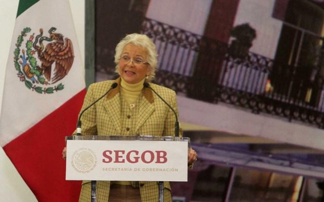 Estado mexicano es más fuerte que el robo de combustible: Sánchez Cordero - Foto de Notimex