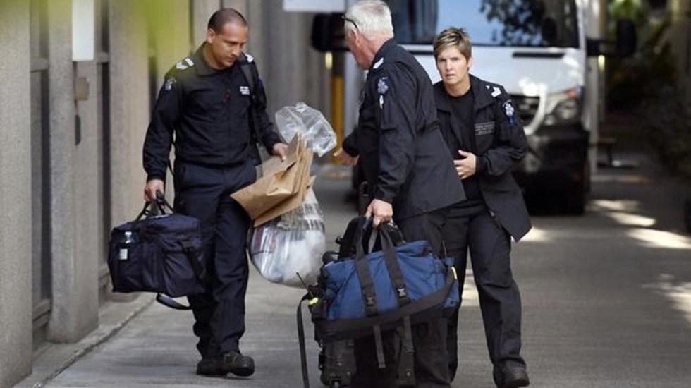 Detienen a responsable de enviar paquetes sospechosos en Australia - Foto de AFP