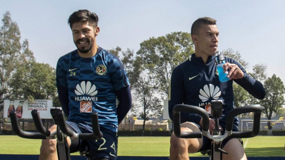 América viaja sin Peralta ni Uribe a Monterrey - Foto de Mexsport