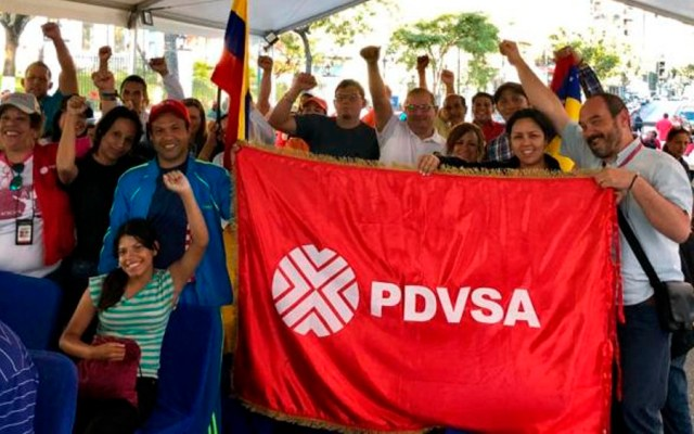EE.UU. anuncia sanciones contra petrolera estatal de Venezuela - Foto de @PDVSA