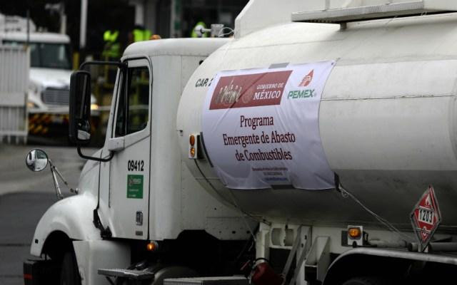 Roban pipa con 25 mil litros de combustible en Guanajuato - Foto ilustrativa de Notimex