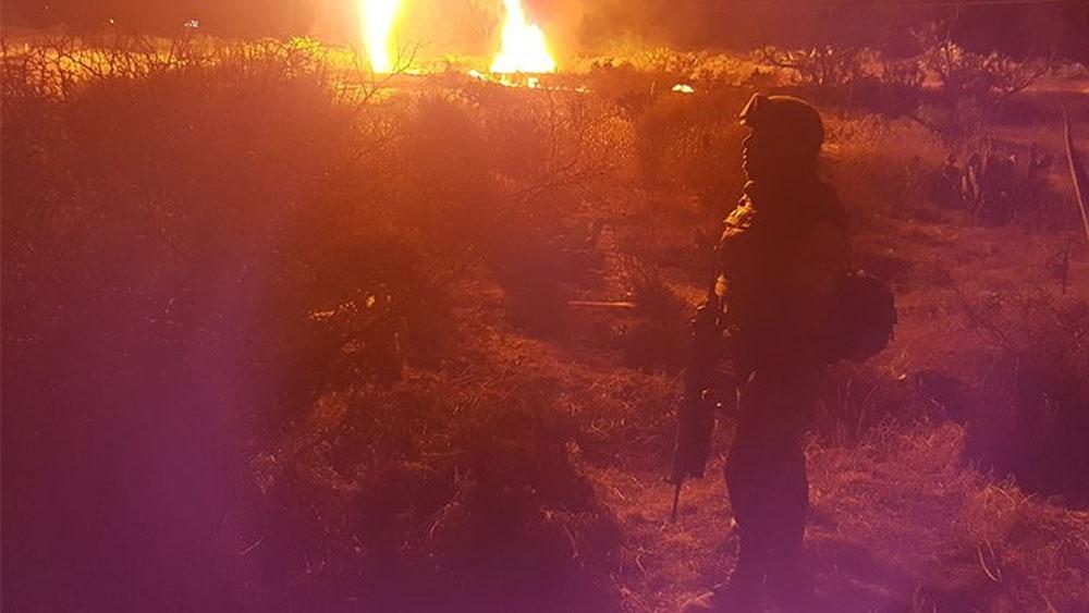 Sedena aplica Plan DN-III-E tras explosión en ducto de Hidalgo - Foto de @SEDENAmx