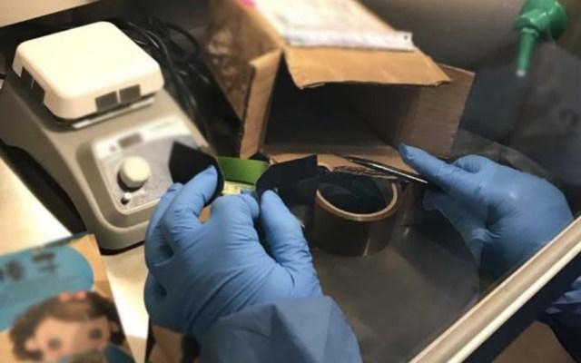 Federales aseguran drogas sintéticas en aeropuerto capitalino - Foto de Secretaría de Seguridad y Protección Ciudadana